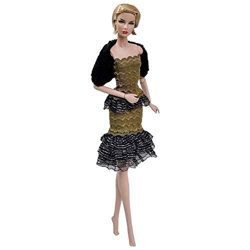 ZITA ELEMENT 20 Piezas para Barbie Ba/ñador Accesorios = 10 Sets Traje de Ba/ño Bikini de Playa Ba/ñadores 10 Zapatos Regalo Hecha a Mano para 28-30cm y 11,5 Pulgadas Mu/ñeca Barbie