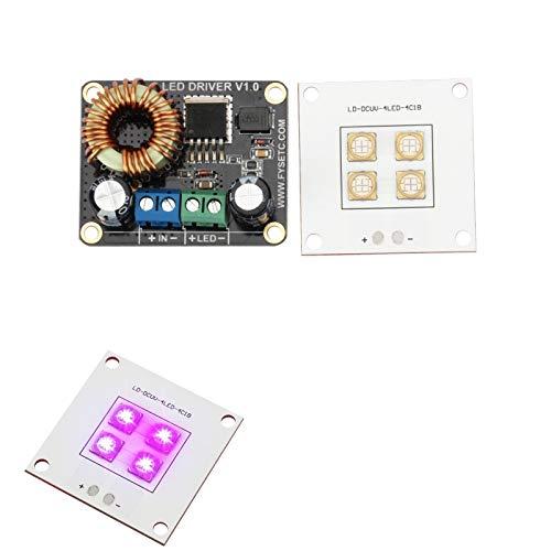 U – 40 W LED UV Light Panel Lamp bron + 30 W V1.0 LED Boost Board driver voor SLA DLP 3D DIY onderdeel van de printer