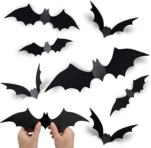 GEGEWOO DIY 3D Bat Decoration Stick…