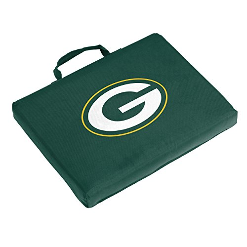Logo Brands Officially Licensed NFL Green Bay Packers Unisex Bleacher Cushion, One Size, Team Color
