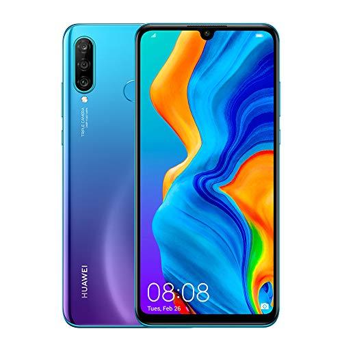 Huawei P30 Lite 256gb + 6gb 3 Camaras 48+8+2 - Azul Orquídea