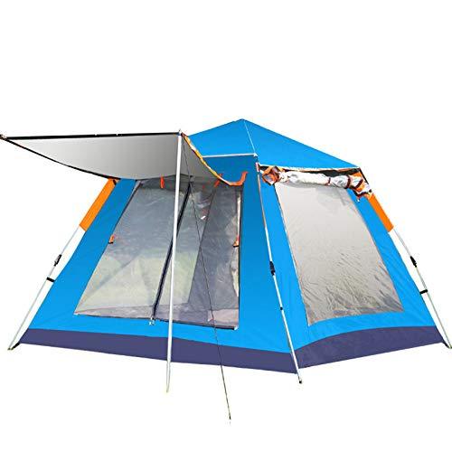 TKHHC 215215140 - Tenda da campeggio automatica istantanea per esterni, impermeabile, per escursioni, viaggi o spiaggia, colore: verde
