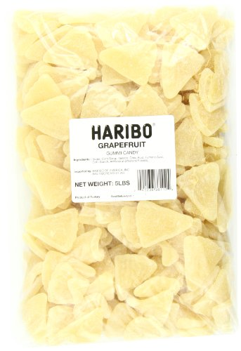 Haribo Gummi Candy, Berries, 5 Pound Bag