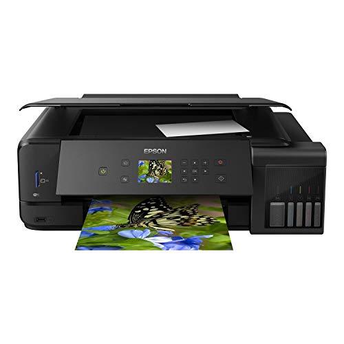 Epson EcoTank ET-7750 A3 Print/A4 Scan and Copy Wi-Fi Photo Printer, Black
