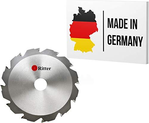 Ritter  disco sierra circular 130 x 16 mm madera | discos de corte para madera 130x16 | hoja de sierra circular | Compatible con sierras circulares de Bosch, Makita, Festool, evolution etc.