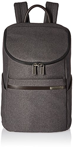 Briggs & Riley Kinzie Street-Wide Mouth Backpack, Grey,...
