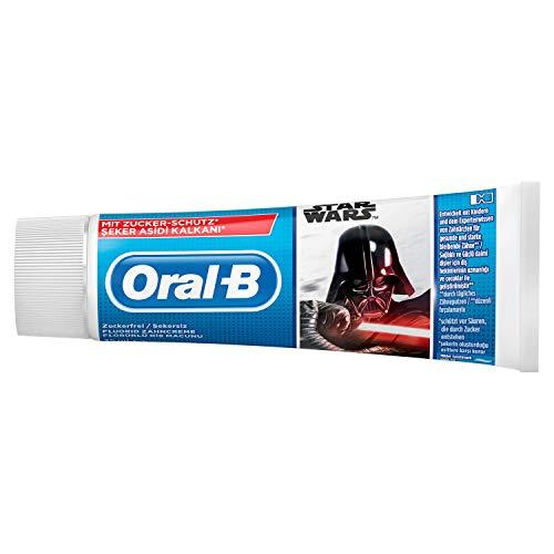Oral-B Junior Disney Star Wars Zahncreme, Ab 6Jahren, Milde Minze, 75ml