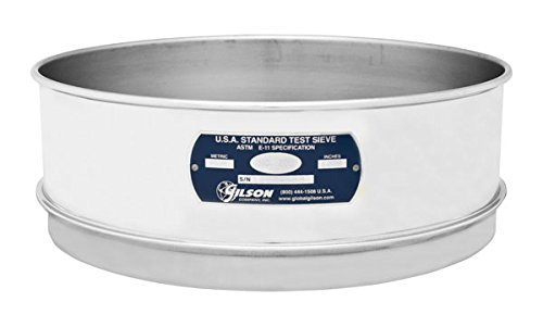 Gilson V12SF #170 Ranking integrated 1st place Stainless Steel Sale Special Price Sieve Diameter 170 Full 12