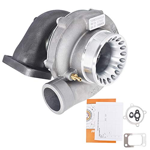 labwork GT35 GT3582 Turbo Turbocharger .70 A/R .63 A/R 4 Bolt T3 Flange GT3582R Universal Anti-Surge Turbo Charger Replacement for 3.0L-6.0L Engines Up to 600HP