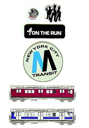 Klamottenstore Magnet Set OTR On The Run New York 5 Magnete