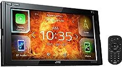 JVC KW-M740BT Apple Car Play, Android Auto 2-DIN AV Receiver (Black),JVC,KW-M740BT