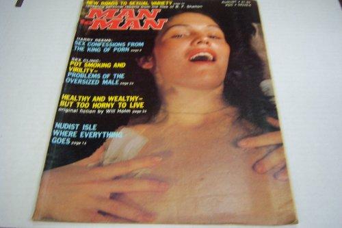 Man to Man Busty Vintage Adult Magazine 'Nudist...