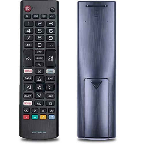TV Remote Control AKB75675304 Controller Replacement Fit for LG Smart LED HDTV TV 32LM620BPUA 55UM6900PUA 49UM6900PUA 65UM7300AUE 75UM7570PUB