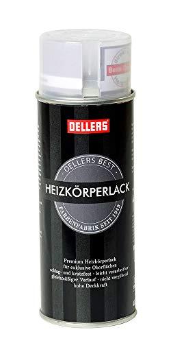Premium Heizkörperlack Sprühlack | 400 ml | verbesserter Vergilbungsschutz | beste Ergebnisse für exclusive Oberflächen (RAL 7016 Anthrazit)