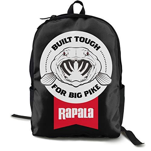 Rapala Rucksack, Daypack Tagesrucksack Für Schule, Arbeit Und Uni, Sportrucksack Und Schultasche Mit Laptopfach Und Rückenpolster