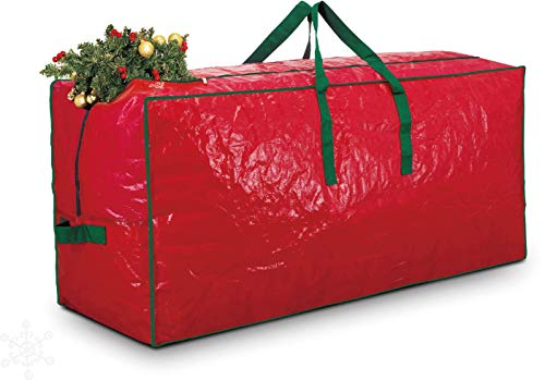 Netagon Christmas Tree Wrapping Papers Wreath Decorations Bauble Box Storage Bags Xmas Organiser Holder (Christmas Tree Storage Bag - up to 4ft)