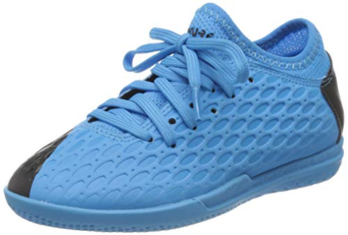 PUMA Unisex-Kinder Future 5.4 It Jr Botas de fútbol, Blau (Luminous Blue-NRGY Blue Black-Pink Alert), 34 EU