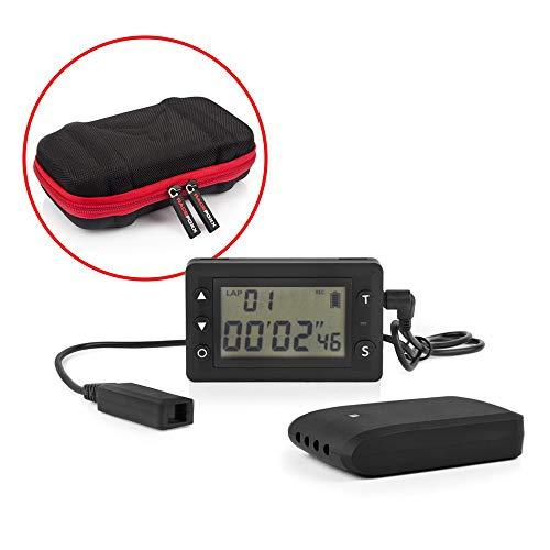 Laptimer RF 4.0, medición de tiempo, tiempo toma, carreras de carreras, carreras de coches, medición de tiempo, tiempo de vuelta, infrarrojos, Racefoxx