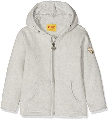 Steiff Baby-Jungen Sweatjacke Fleece Strickjacke, Grau (Quarry 8359), 68 (Herstellergröße: 068)