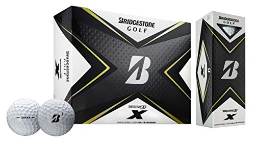 Bridgestone 2020 Tour B X Golf Balls 1 Dozen White