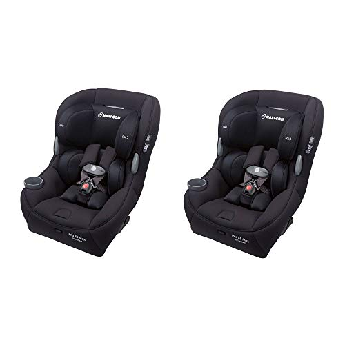 Maxi-Cosi Pria 85 Max Convertible 5-85 lb. Baby Infant Car Seat, Black (2 Pack)