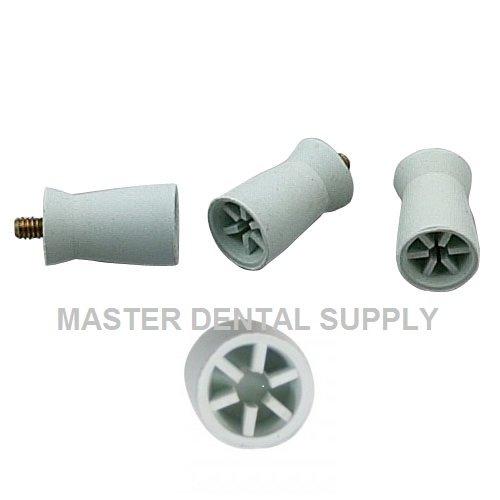 Dental Prophy Cups Screw Shank 144 Pcs/Box Screw Type Polishing Cups 6 - WEBBED