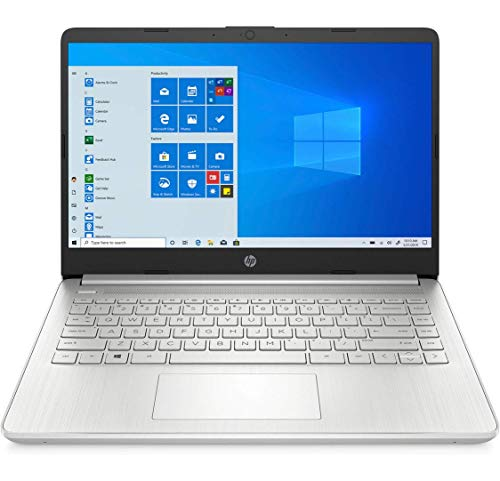HP 14s-dq0007ns - Ordenador portátil de 14' FHD (Intel Core i3-8130U, 8 GB RAM, 256 GB SSD, Intel UHD Graphics 620, Windows 10 Home) Plata - Teclado QWERTY Español