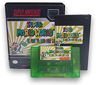 Super Mario World: Return to Dinosaur Land Special Green Edition SNES Fan Game with Custom Box and Manual!