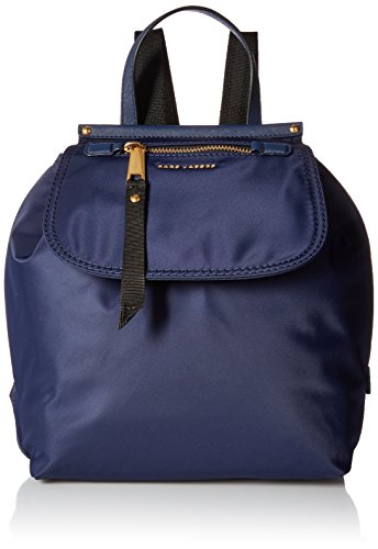 Marc Jacobs - Trooper, Mochilas Mujer, Blue (Midnight Blue), 14x30x25 cm (W x H L)