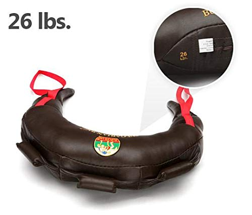Suples Unisex – Adulti Bulgarian Bag in Vera Pelle 12 kg, Marrone, M