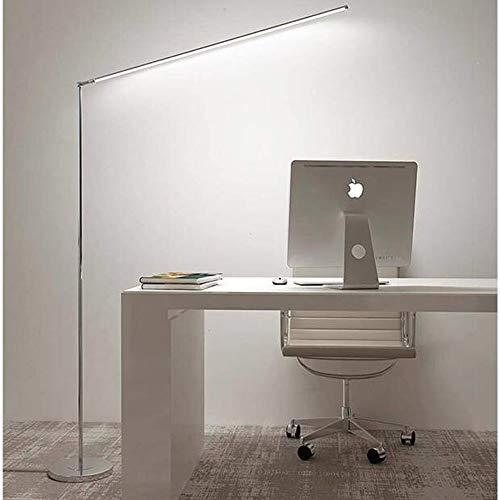 Lámpara de pie LED Dimmable, Lámpara LED Lámpara de lectura, Protección de los ojos Lámpara de pie blanco en sala de estar, Dormitorio, Oficina