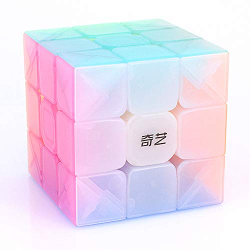 LiangCuber Qiyi Warrior W 3x3 Jelly Speed Cube Stickerless 3x3x3 Puzzle Cube Jelly Magic Cubes