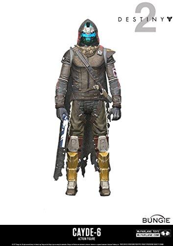 McFarlane Toys 13040-9 Destiny 2 Actionfigur Cayde 6, unisex-adult