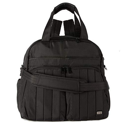LUG Unisex-Erwachsene Boxer Duffel Bag, Brushed Black Seesack, Einheitsgröße