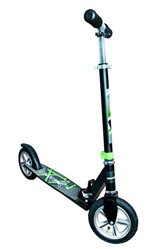 authentic sports & toys GmbH Aluminium Scooter Muuwmi AIR 205 mm, schwarz/grün