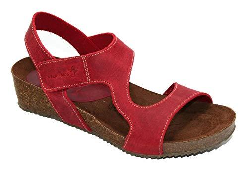 Sandalia cuña Inter Bios roja, Modelo 5316-39