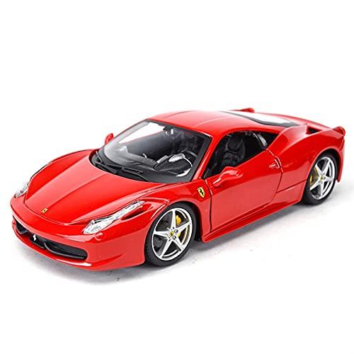 para Ferrari 458 Italia 1:32 Exquisito Coche Deportivo Estático Colección De Coches Modelo De Coche Juguete para Niños
