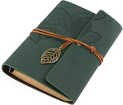 Diario de viaje,Cuaderno en blanco, Cuaderno vacío Editor Diario de viaje Diario Diario de viaje (Verde)