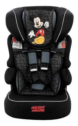 Cadeira Para Auto - De 09 A 36 Kg - Beline Luxe - Disney - Mickey Mouse - Vite - Team Tex