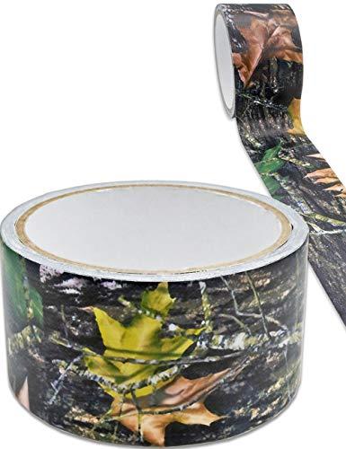 Outdoor Saxx® - Camouflage Klebe-Band, Panzer-Tape, Gewebe-Band, Gaffer-Tape, zur Tarnung von Kamera, Ausrüstung, Jäger, Angler, Fotografen, 5m, Real-Tree Camouflage, Wasser-abweisend