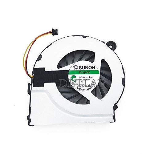DBTLAP Ventilador de CPU para portátil compatible con ventilador HP Pavilion G7 G6 G4 G4t G6t G7t 646578-001 643364-001