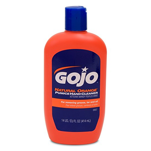 GOJO NATURAL ORANGE Pumice Hand Cleaner Squeeze Bottle