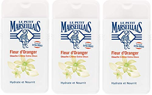 Le Petit Marseillais duschcreme extra-Gentle orange Blossom 250ml 3er-Pack