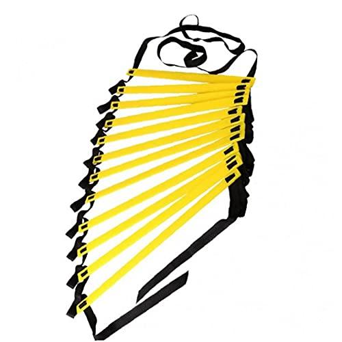 Froiny Ladder velocità Ladder Scale Nylon Cinghie Formazione Scale Agile Scala a Fitness Calcio velocità Scala Attrezzi