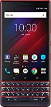 BlackBerry KEY2 LE Unlocked Android Smartphone (AT&T, T-Mobile, Verizon), 64GB, 13MP Rear Dual Camera, Android 8.1 Oreo (U.S. Warranty) (Atomic Red Limited Edition Dual SIM, 64GB)