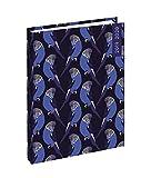EXACOMPTA - 1 Agenda Journalier Forum Color Design Oiseau Bleu - 12 x 17 cm - Août 2019 à Juillet 2020