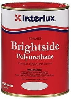 Interlux Brightside Topside Boat Paint Light Blue QUART by Interlux