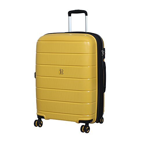 it luggage Asteroid Maleta, 66 cm, 119 Liters, Amarillo (Cheese Yellow)