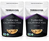 Terrasoul Superfoods Organic Turkish Figs (Calimyrna), 4 Lbs (2 Pack) - No Added Sugar | Unsulphured | Perfectly Dried