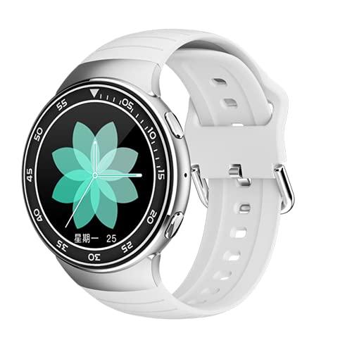 ZGLXZ Reloj Inteligente para Hombres IP67 IP67 Ejercicio Impermeable Ejercicio Corazón Información De La Presión Arterial Recordatorio Auricular Inalámbrico Bluetooth para iOS/Android,E